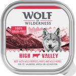 24x300g Adult Green Fields Lam Wolf of Wilderness Hundefoder