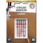Organ Læder nåle til symaskine | 5 stk.