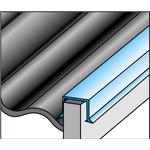 Icopal Alu-sternkapsel 4S med skrå kant - 35 mm