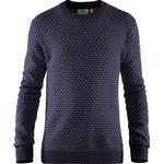 Fjällräven Mens Övik Nordic Sweater, XL, DARK NAVY/555