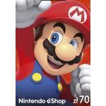 Nintendo eShop Card 70 PLN
