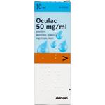 Oculac øjendråber, opløsning 10 ml.