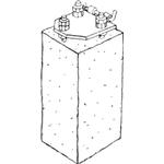 Dano Mast betonfundament til 4-6 m flagstang