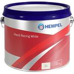 Hempel bundmaling Hard Racing White 2,5 L