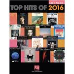 Top Hits Of 2016: Easy Piano