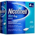 Nicotinell Tyggegummi (Mint) 4mg - 204 stk