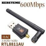 KEBETEME Mini 5Ghz 2.4Ghz 600Mbps