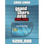 Gta 5 pc PC spil GTA Grand Theft Auto V Online CashCard Tigerhai (200.000 $)