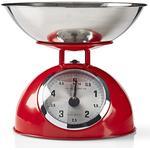 Retro køkkenvægt - Rød