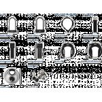 Samme nøgle til Flere låse | Abus låse konfigurator