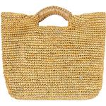 florabella Small Napa Lux Bag in Natural & Gold - Tan. Size all.