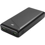 power bank 30 000 mAh, 1x USB-C PD, 2x USB-A Quick Charge 3.0