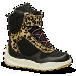 Woden Wonder Børnestøvle Leopard - Str. 29 - Skind/tekstil/gummi/