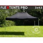 Foldetelt FleXtents Easy up pavillon PRO 3x4,5m Sort