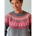 Rosir Islandsk Sweater, No 1 strikkekit
