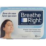 Breathe Right - Næsestrips - 10 stk.