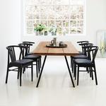 Samsø plankebord inkl. 6 stole