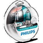Philips X-treme Vision pærer H7, 2 stk.