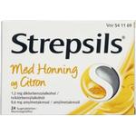 Strepsils Honning & Citron sugetabletter 24 stk.
