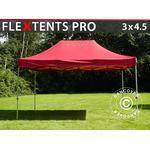 Foldetelt FleXtents Easy up pavillon PRO 3x4,5m Rød