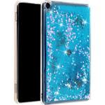 Amazon Fire HD 8 kviksand glitter etui - Blå