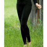 Engel leggings til kvinder, uld/silke - Sort - sort - 34/36
