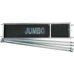 Jumbo platformssæt 74x250cm m/gelænder 102501SK