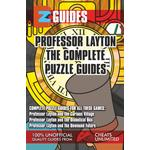 Professor Layton The Complete Puzzle Guides - The Cheat Mistress - 9781907649929
