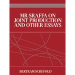 Mr Sraffa on Joint Production and Other Essays - Bertram Schefold - 9781134998937