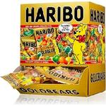 Miniposer Haribo - 100 stk. Guldbamser