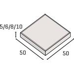 IBF modul 50 betonflise grå 50x50x5cm 4stk/m2 Sælges på palle a 56 stk