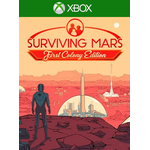 Surviving mars xbox PC spil Surviving Mars: First Colony Edition XBOX LIVE Key EUROPE