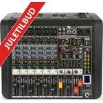 PDM-M604A 6-Channel Music Mixer with Amplifier forstærker kanals kanal musik