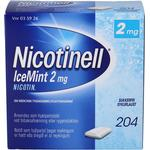 Nicotinell IceMint 2 mg 204 stk