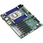 ASRock Rack ROMED8-2T - Bundkort - ATX - Socket SP3 - USB 3.1 Gen 1, USB-C Gen2, USB 3.1 Gen 2 - 2 x 10 Gigabit LAN - onboard grafik