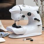 InnovaGoods Kompakt Symaskine 6 V 1000 mA Hvid