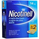 Nicotinell Nikotin Depotplastre 14 mg/24 timer - 21 stk