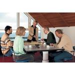 ROPOX Vision hæve-/sænkebord 200 x 100 cm bordplade elektrisk højdejustering