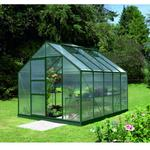 Vitavia Merkur 8300 drivhus grøn 8,3 m2 6 mm poly