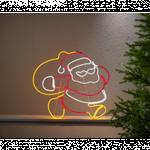 Silhouette Julemand Og Sæk Med 768 LED Lys IP44 - Startrading