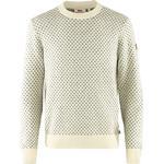 Fjällräven Mens Övik Nordic Sweater, L, CHALK WHITE/113
