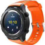 Silicone rem til Garmin Venu Sq-Orange
