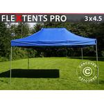 Foldetelt FleXtents Easy up pavillon PRO 3x4,5m Blå
