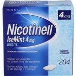 Nicotinell IceMint 4 mg 204 stk