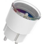 Smart WiFi Stikkontakt/Plug 16A - Tænd/Sluk, Energimåler og Timer - 2.4GHz
