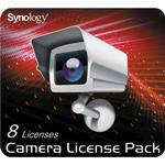 Synology software Software Applikationer Synology Camera License Pack - 8 pack - Engelsk