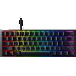 Razer Huntsman Mini 60% Gaming Keyboard - Linear Optical Switch - Doubleshot PBT Keycaps - Chroma RGB Lighting - US Layout - Black