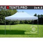 Foldetelt FleXtents Easy up pavillon PRO 3x4,5m Hvid