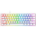 Razer Huntsman Mini 60% Gaming Keyboard - Clicky Optical Switch - Doubleshot PBT Keycaps - Chroma RGB Lighting - US Layout - Mercury White
