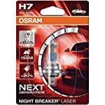 Osram next generation Night Breaker Laser H1, H7